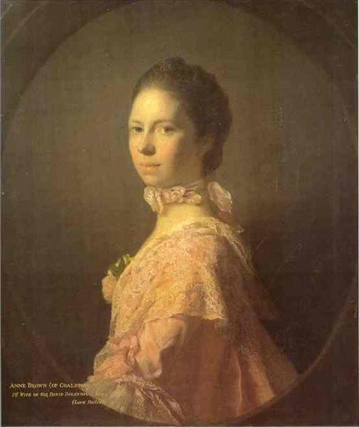 Portrait of Anne Brown, 1763 - Allan Ramsay