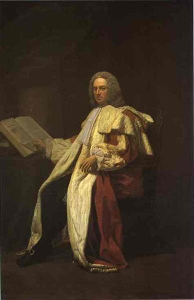 Portrait of Archibald Campbell, 3rd Duke of Argyll, 1749 - Allan Ramsay