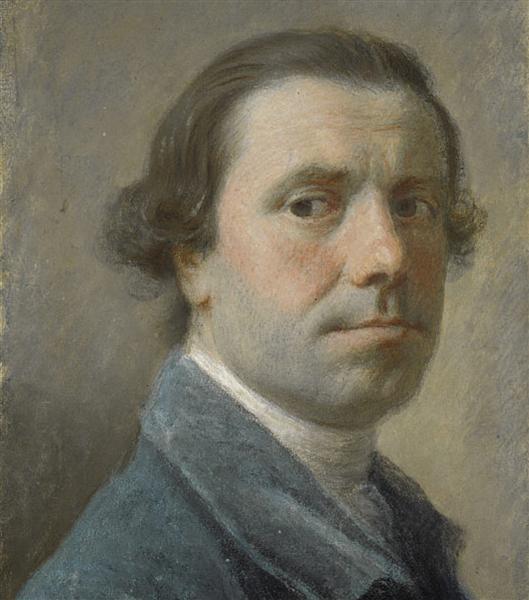 Self-Portrait, c.1756 - Allan Ramsay