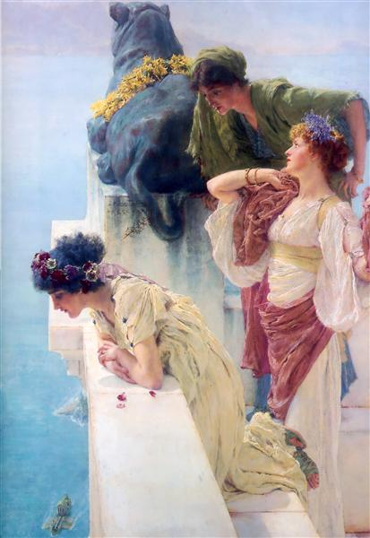 A Coign of Vantage, 1895 - Sir Lawrence Alma-Tadema