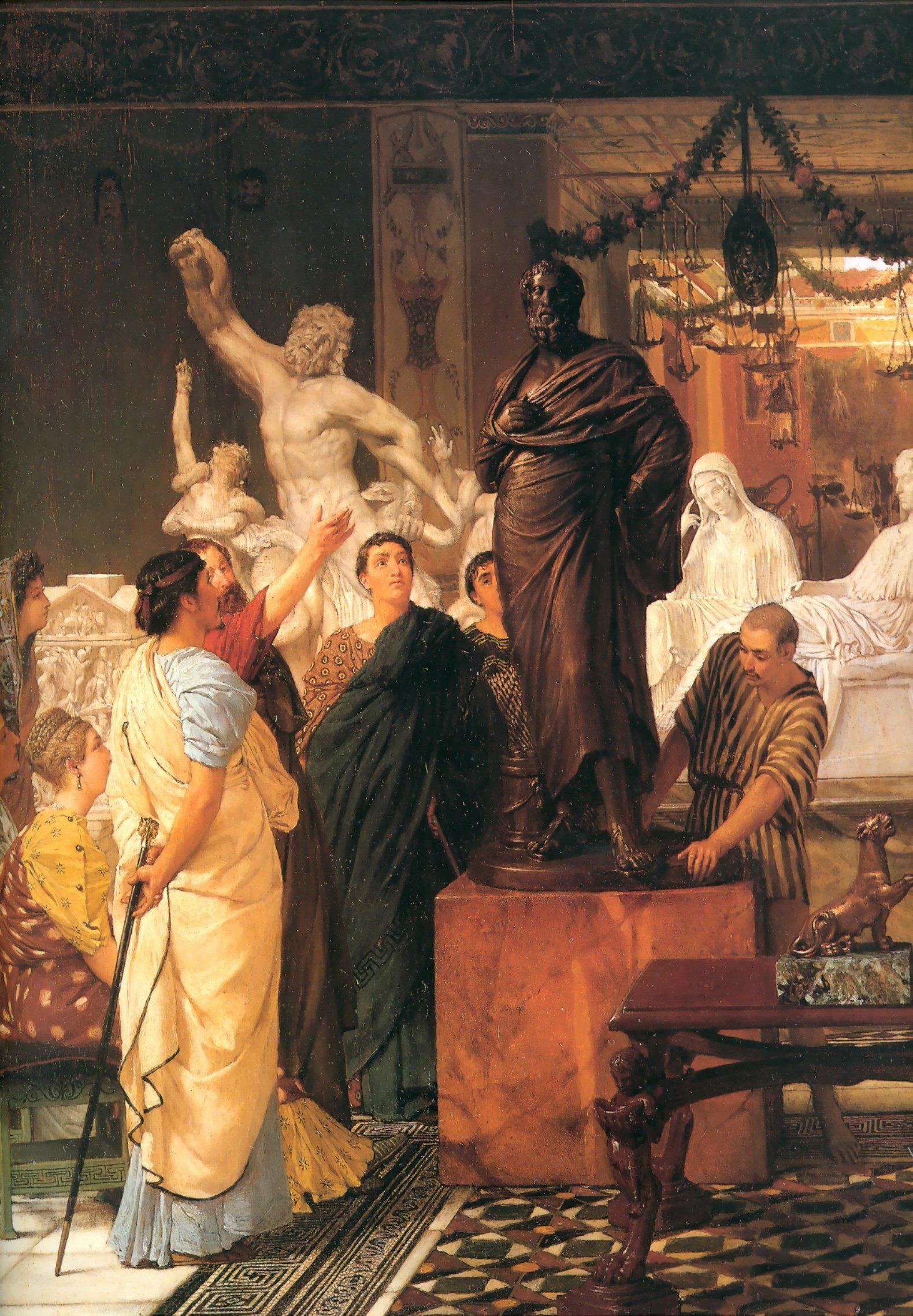 A Sculpture Gallery, 1867