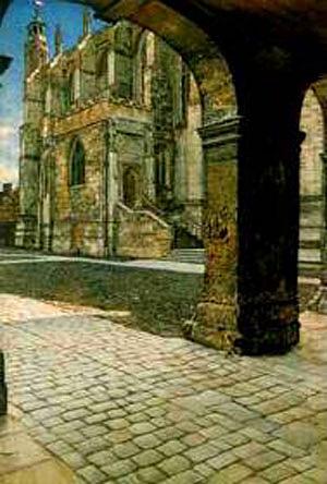 Anna Eton College Chapel - Lawrence Alma-Tadema
