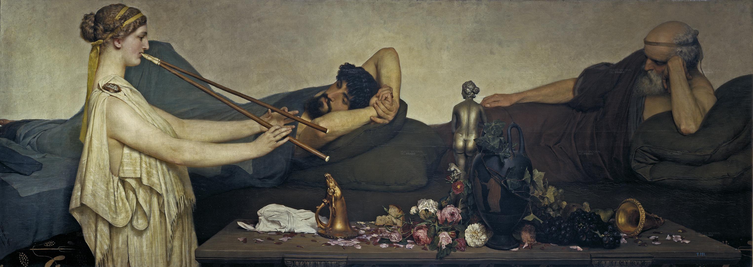 Pompeian Scene or The Siesta, 1868