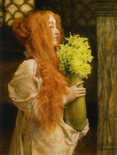 Spring Flowers - Alma-Tadema Lawrence
