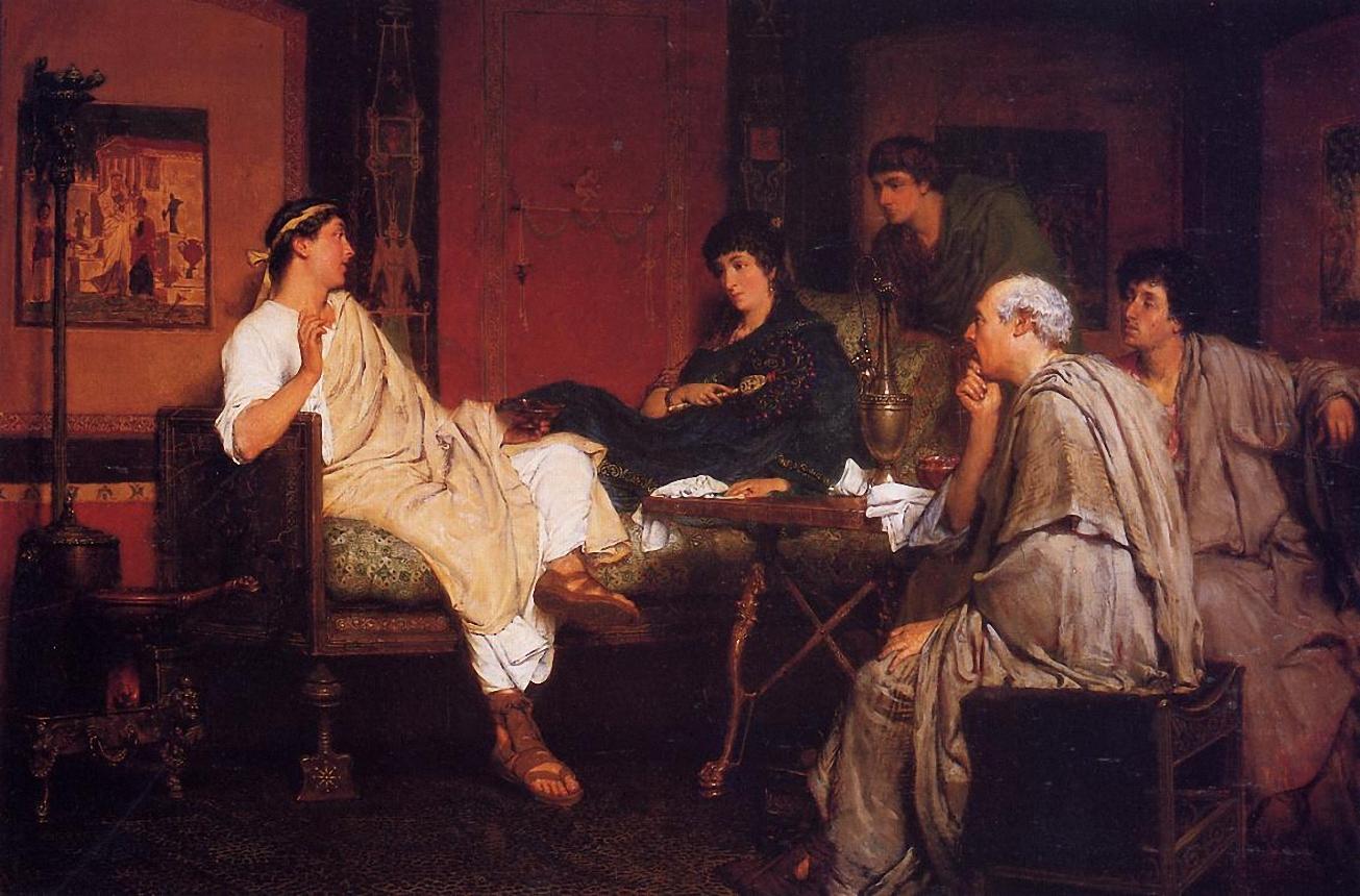 Tibulius at Delia`s, 1866