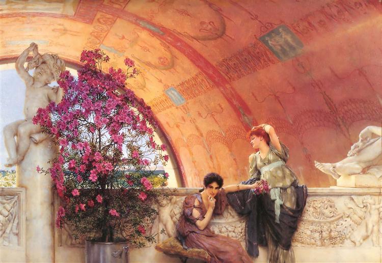 Unconscious Rivals, 1893 - Lawrence Alma-Tadema