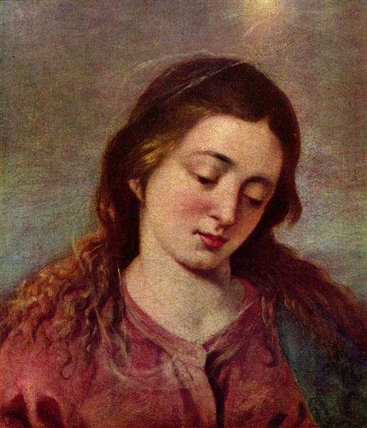 Maria, c.1648 - Alonzo Cano