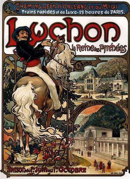 Luchon - Alphonse Mucha