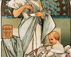 Nestlé`s Food for Infants - Alphonse Mucha