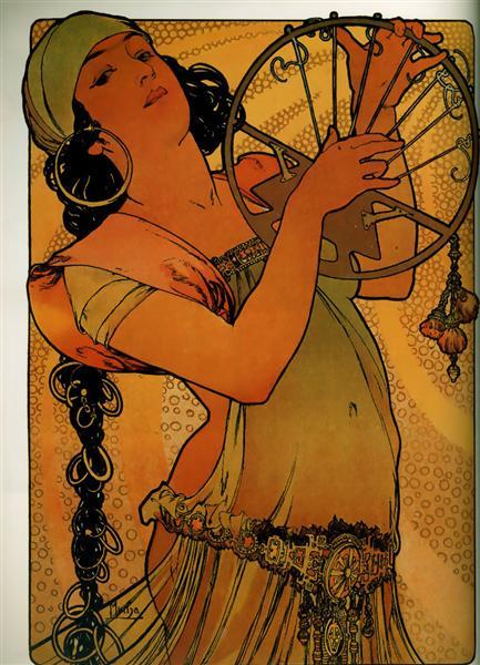 Salome - Alphonse Mucha