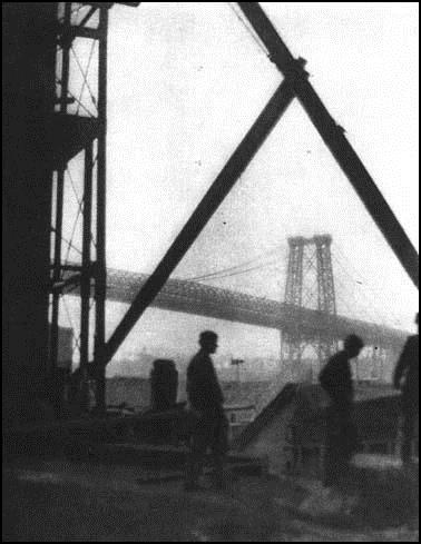 Williamsburg Bridge, 1909 - Alvin Langdon Coburn