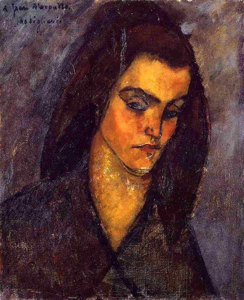 Beggar Woman, 1909 - Amedeo Modigliani