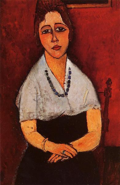 Elena Picard, 1917 - Amedeo Modigliani