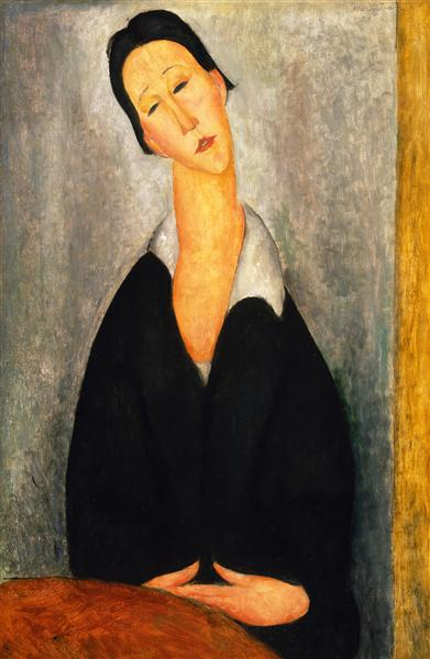 Portrait of a Polish Woman, 1919 - Amedeo Modigliani