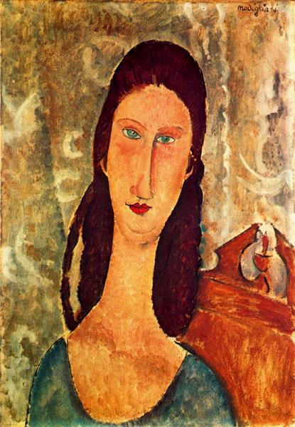 Portrait of Jeanne Hebuterne, 1919 - Amedeo Modigliani