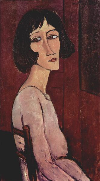 Portrait of Margarita, 1916 - Amedeo Modigliani