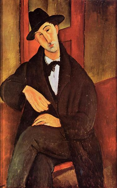 Portrait of Mario Varvogli, c.1919 - Amedeo Modigliani