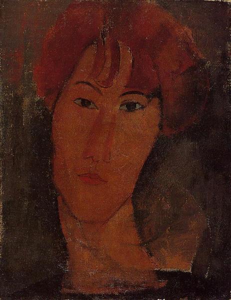 Portrait of Pardy, c.1917 - Amedeo Modigliani