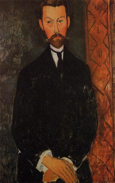 Portrait of Paul Alexander, c.1912 - Amedeo Modigliani