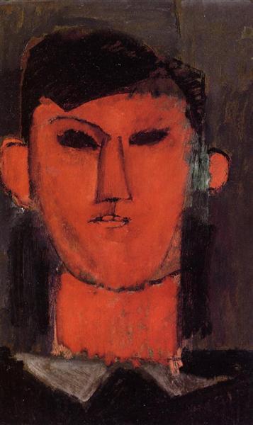 Portrait of Picasso, 1915 - Amedeo Modigliani