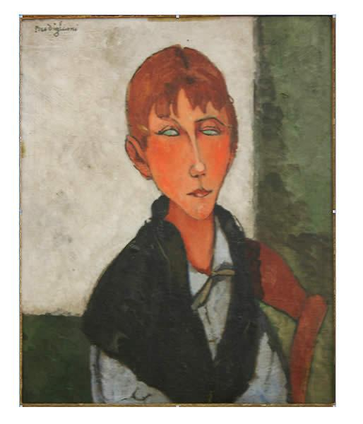 The Mistress, 1917 - Amedeo Modigliani