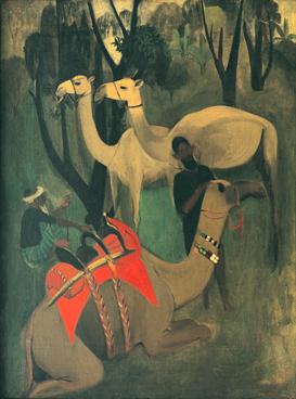 Camels, 1941 - Amrita Sher-Gil