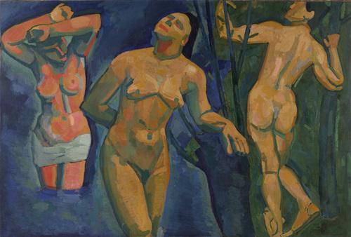 Bathers, 1907 - Andre Derain