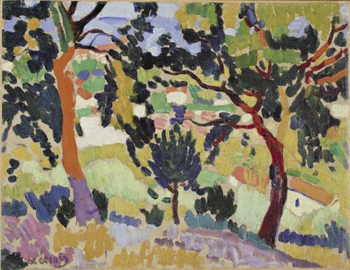 L'Estaque, 1906 - Andre Derain