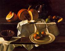 The Still life with Pumpkin - Andre Derain