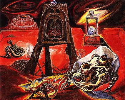 The Workshop of Dedalus, 1939 - Андре Массон