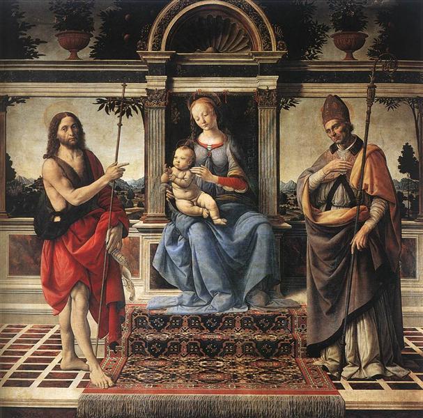 Madonna and Child, 1475 - 1483 - Verrocchio