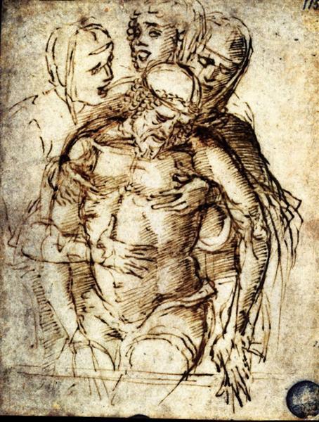 Pieta, 1459 - Andrea Mantegna