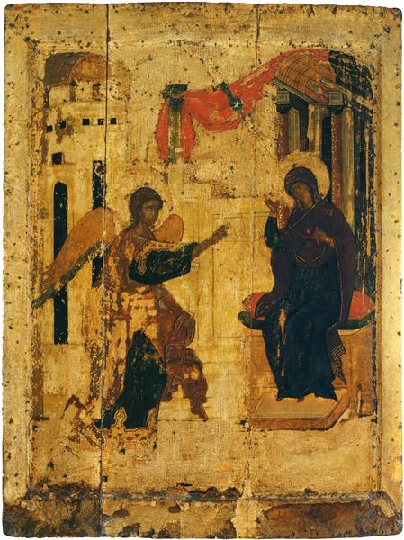 Annunciation, c.1410 - Andrei Rublev