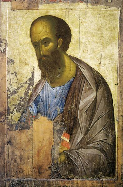 Apostle Paul, c.1410 - Andrei Rublev