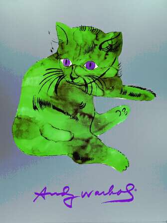 A Cat Named Sam - Andy Warhol