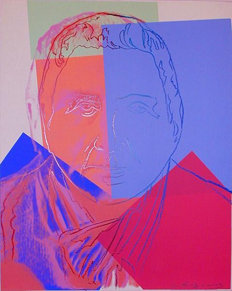 Gertrude Stein, 1980 - Andy Warhol