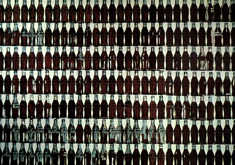 Green Coca-Cola Bottles - Warhol Andy