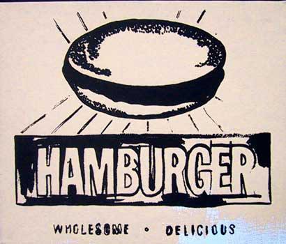 Hamburger (beige), 1986 - Andy Warhol