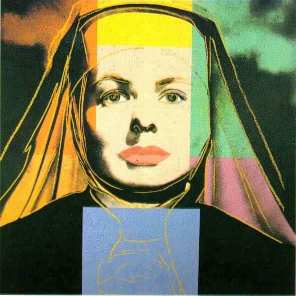 Ingrid Bergman as the Nun, 1983 - Andy Warhol