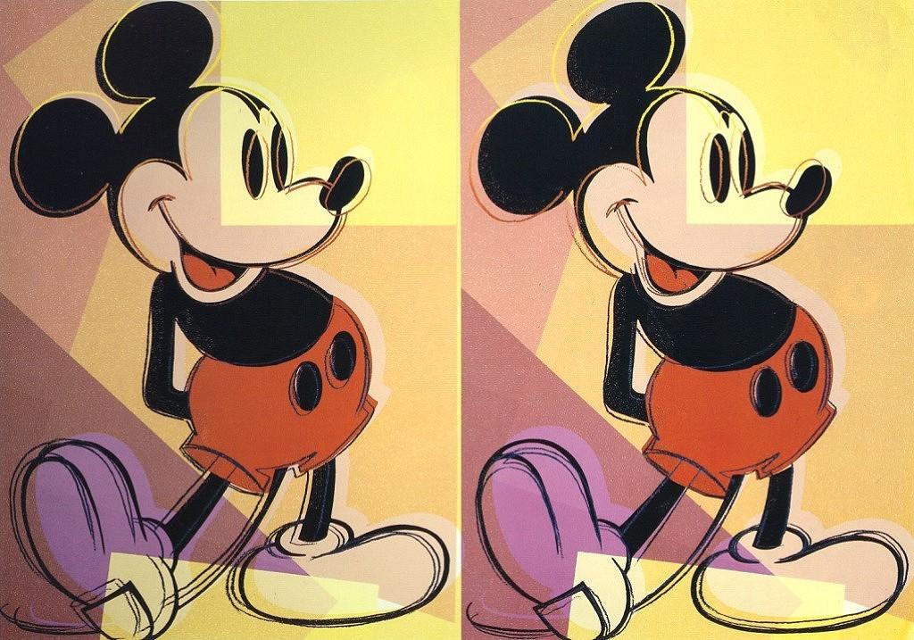 Mickey, 1982 - Andy Warhol - WikiArt.org