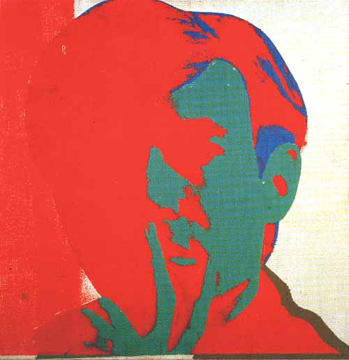 Self-portrait - Warhol Andy