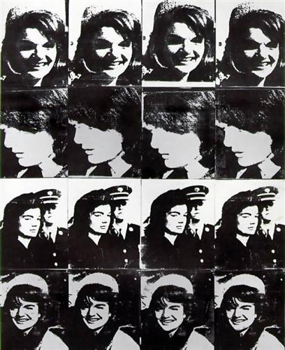 Sixteen Jackies - Andy Warhol