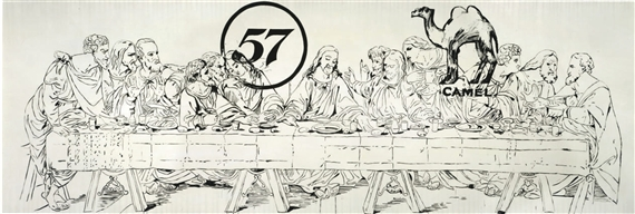 The Last Supper (Camel-57), 1986 - Andy Warhol
