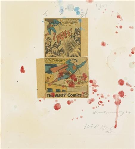 Untitled (Superman Collage #15) - Andy Warhol