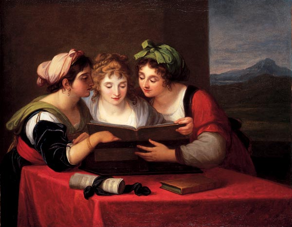 Three singers, 1795 - Angelica Kauffman