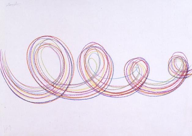 Pastel em papel, 1969 - Angelo de Sousa