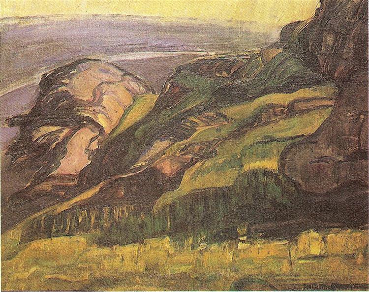 Rochedos (Monhegan Island), 1915 - Anita Malfatti