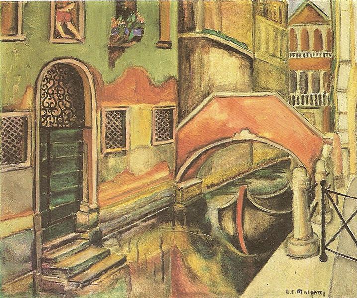 Veneza (Canaleto), 1924 - Anita Malfatti