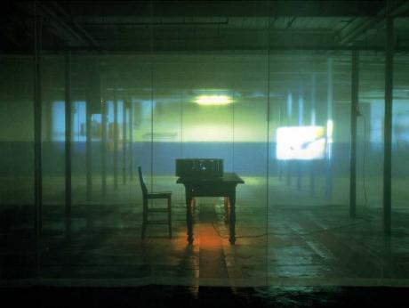 ghost...a border act, 2000 - Ann Hamilton