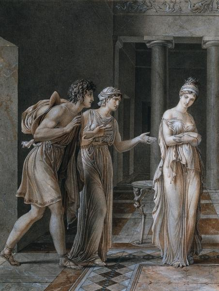 The Meeting of Orestes and Hermione, 1800 - Anne-Louis Girodet
